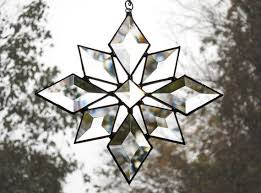 149 best glass snow flakes images on stained glass