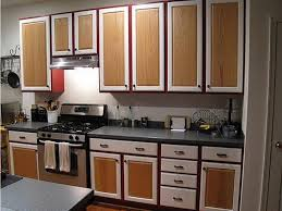 2 Colour Kitchen Cabinets Painting Kitchen Cabinets 2 Different Colors Chalk Paint And 2016