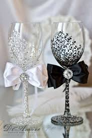 wedding glasses stunning diy wedding wine glasses 1000 ideas about wedding wine