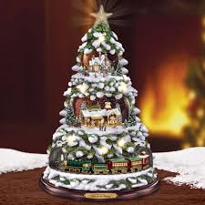 the kinkade animated tree hammacher schlemmer