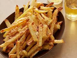 oven baked parmesan french fries recipe michael chiarello food