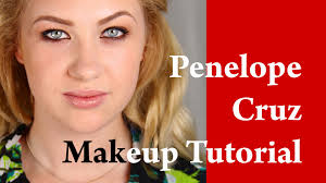 penelope cruz makeup tutorial lane mercial transformation on a blonde