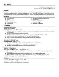 Resume Examples For Any Job by Good Resume Examples Good Sample 1 Larger Image Things To