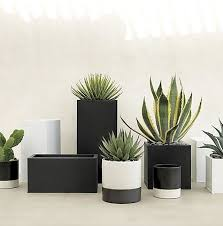 modern planters outdoor modern planter boxes with modern planters