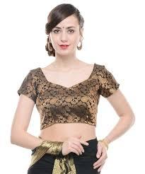 paisley blouse blouse black paisley gold brocade designer saree choli