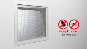 Mosquito Net Roller Blinds Tectake Mosquito Screen For Windows Youtube