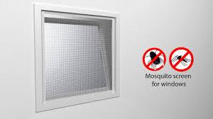 tectake mosquito screen for windows youtube