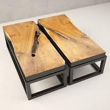 Teak Coffee Table 3d Loft Teak Coffee Table Cgtrader