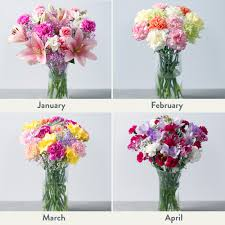 monthly flower delivery flowers for a year monthly flowers every month for a year