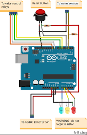 water leakage detector and valve control arduino project hub
