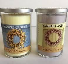 yankee candle welcome willow wreath candles ebay