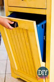 tilt out trash bin storage cabinet best home furniture decoration