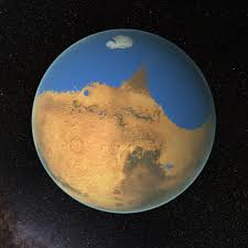 nasa research suggests mars once had more water than arctic ocean