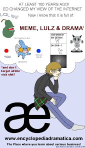 Meme Encyclopedia - encyclopedia dramatica by konfuse on deviantart