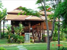 traditional thai houses baan song thai