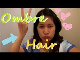 hair color for pinays pinay ombre story using hbc hair color youtube