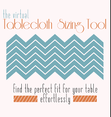 6 Foot Fitted Tablecloth Tablecloth Sizing
