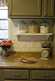 Cabinet Tips For Cleaning Kitchen by Use A Small Shelf To Have Things Accessible But Off The Kitchen