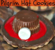no bake pilgrim hat cookies for recipe kidfriendly nobake