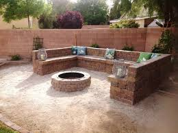 Firepit Blocks Cinder Block Pit Hazards Jburgh Homesjburgh Homes