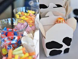cow themed baby shower popsugar moms