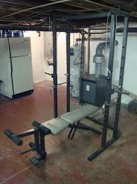 Weider Pro Bench Weider Pro 545 Rack And Bench Rack Shown With Bench Can B U2026 Flickr