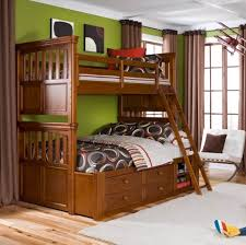 Wooden Futon Bunk Bed Plans by Bedroom Design Cappuccino Twin Over Full Bunk Bed With Storage