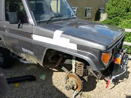 ironman snorkel fitting to lj70 land cruiser club