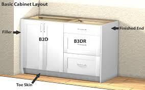 base cabinets kitchen stunning nice kitchen base cabinets ana white 36 sink base kitchen