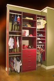 Hanging Closet Shelves by Closets To Go Nursery Reach In Closet Organizer Custom Closet