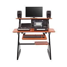 bureau home studio bureau home studio 4 niveaux par gear4music 6u à gear4music com