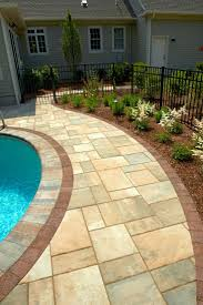 Snap Together Patio Pavers by 27 Best Pool U0026 Brick Designs Images On Pinterest Backyard Ideas