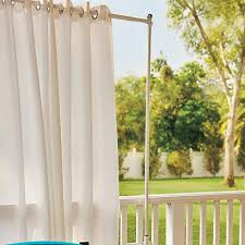 Cincinnati Bengals Curtains Improvements Railing Outdoor Curtain Rod And Post Set 8346118 Hsn