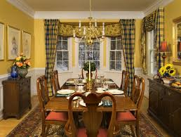 Dining Room Curtains Ideas by Dining Room Curtains Images Rustic Wicker Chairs Purple Fabric