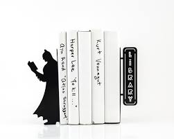 Book End Reading Batman Bookend By Designatelierarticle Sohomod Blog