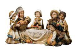 thanksgiving pilgrim figurines thankstiving indian figurines archives day make any day