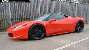 ferrari 458 black ferrari 458 italia adv05 mv2 wheels adv 1 wheels