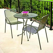 Black Metal Bistro Chairs Idea Patio Bistro Sets For Folding Patio Bistro Set 54 Outdoor