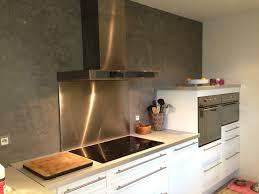 enduit pour cuisine enduit mural tadelakt gris galet de luxens parfait pour ma cuisine