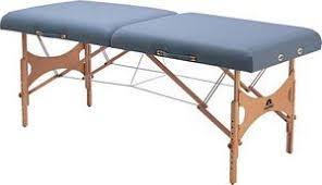 oakworks portable massage table nova ls portable massage table w rectangular top 27 x73 oakworks