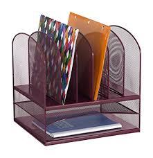 safco onyx mesh desk organizer amazon com safco products 3255we onyx mesh desktop organizer with