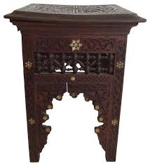 victorian style side table the well appointed house luxuries for the home throughout moroccan