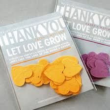 plantable seed wedding favors catalog botanical paperworks