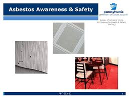 bureau workers comp asbestos awareness safety bureau of workers comp pa for