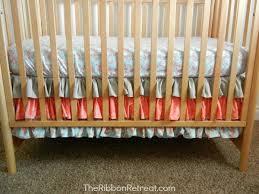 crib skirt tutorial the ribbon retreat blog