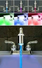 led kitchen faucet led kitchen faucet brikon co