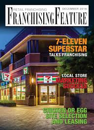 retail december 2016 franchising usa 5 2 by cgb publishing the