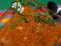 salsa ranchera u2014 mexican tomato and chile sauce country style