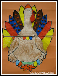 project thanksgiving family turkey art projects drseussprojects