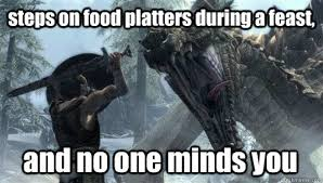 Funny Skyrim Memes - funny things in skyrim memes quickmeme